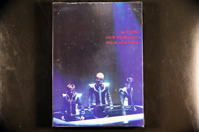 w-inds. LIVE TOUR 2012 MOVE LIKE THIS��DVD
